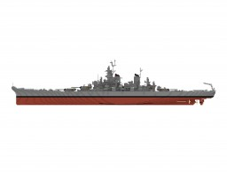 USS Missouri Minecraft Map & Project