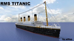 RMS Titanic - Ocean Liner [full interior] [200 subs] Minecraft Project