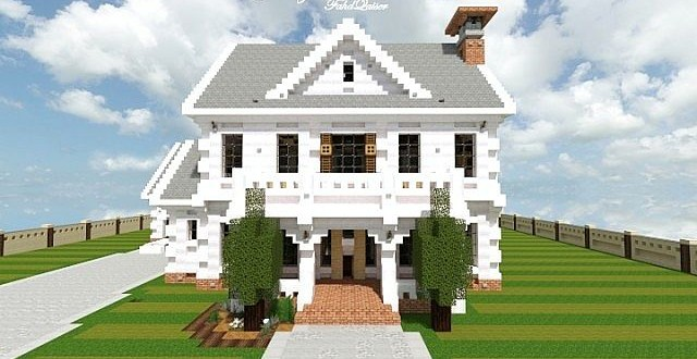 how to make a suburban mansion tmsc