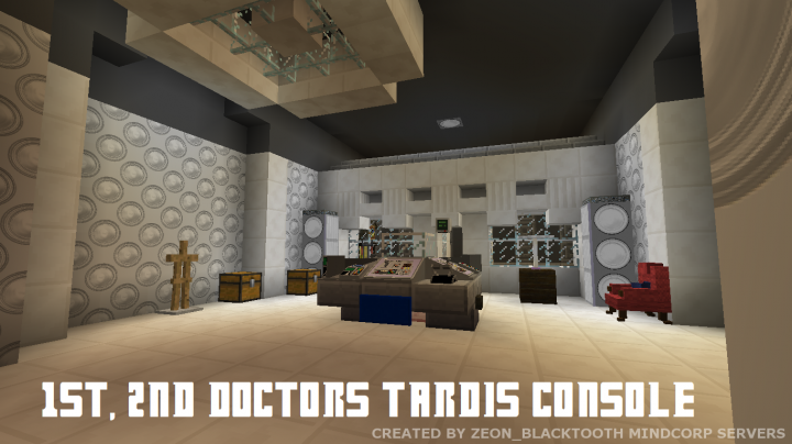 Doctor Who Tardis Resource Pack 113 Minecraft Texture Pack
