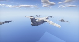 Military transport aircraft Minecraft Map & Project