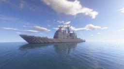 USS Port Royal Minecraft Map & Project