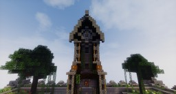 12 o'clock - Survival Spawn Minecraft Map & Project