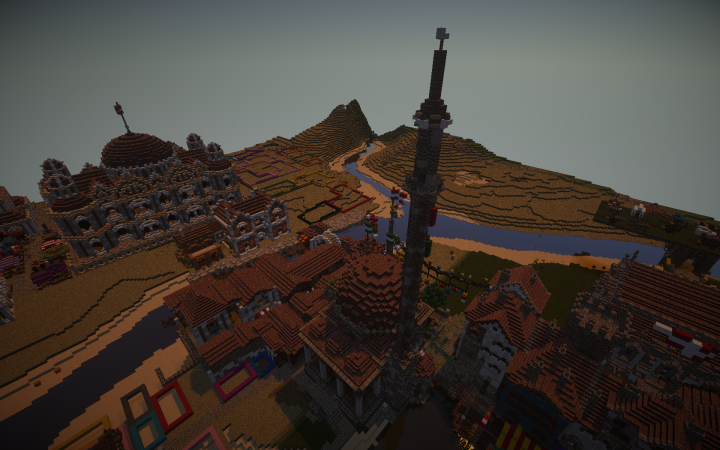 The mosque is a part of a Balkan-Ottoman city project. Please dont mind the mayhem nearby!