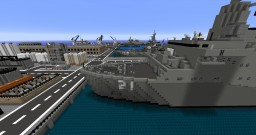 minecraft naval base fort tesla