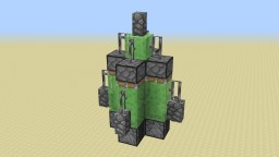 Missile Flying Machine Minecraft Map & Project