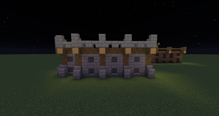 Wall Design Minecraft : Easy wall designs minecraft project