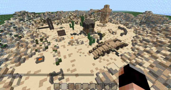 KitPvP Map 2(Desert Boom) Minecraft Project on