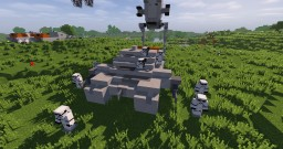 Imperial Hovertank STAR WARS - ROGUE ONE Minecraft Project