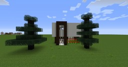 casa moderna Minecraft Project