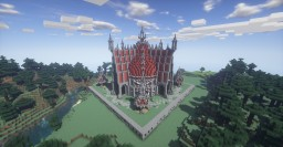 Germango Medieval Style - Faction Server Spawn Minecraft Map & Project