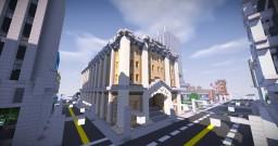 Ashfield Post Office Minecraft