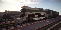 Pere Marquette 1225 Polar Express Train Minecraft Project