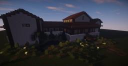 Germanic Roman rural villa Minecraft Project
