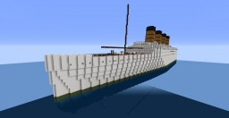 R.M.S. Mauretania Minecraft Map & Project