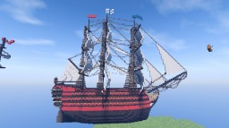 Ship of the line Minecraft Project