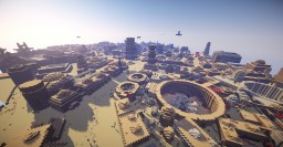 Tatooine: Mos Eisley Minecraft! STAR WARS Minecraft