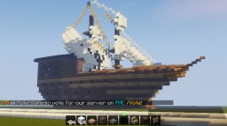 Pirate Ship/Fictional Minecraft
