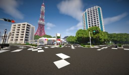 Tokyo Tower - (東京タワー) - Revamp Minecraft Project