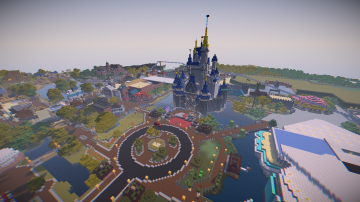 Magic kingdom 1971 minecraft project the hub gumiabroncs Image collections