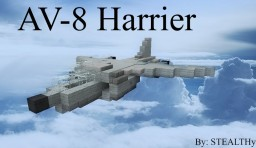 AV-8 Harrier Minecraft Map & Project