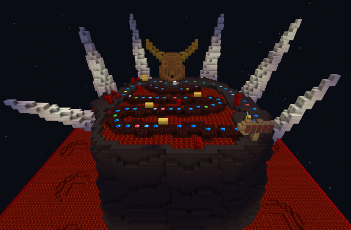 Bowser Magma Mountain - MC version - unfinished!
