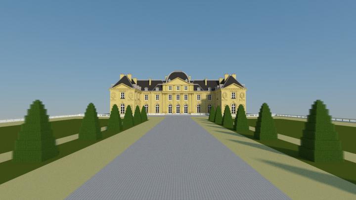 Ch teau de voisins minecraft project - Chateau de minecraft ...