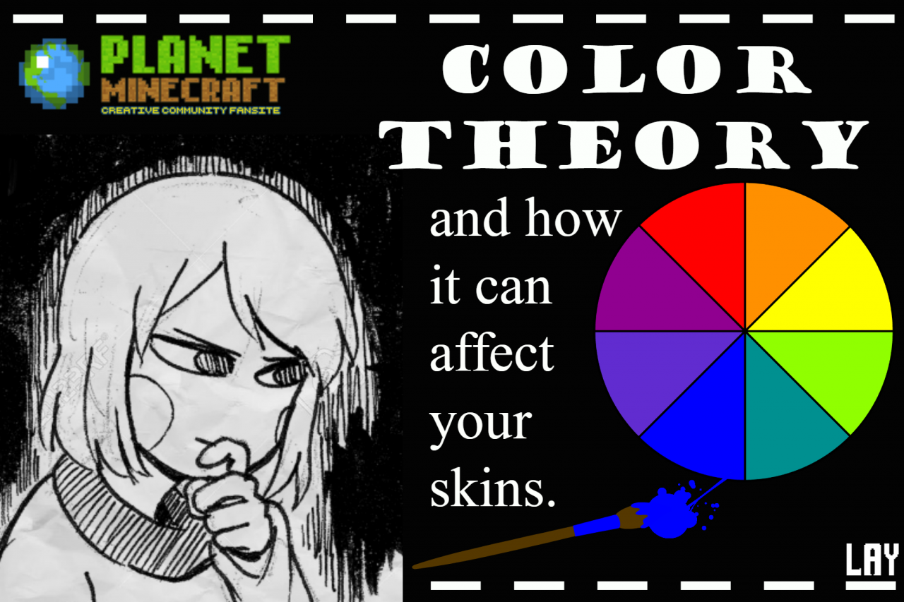 Color Theory Basics And Skins Minecraft Blog