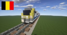 Train - Desiro ML MS-08 - NMBS Belgian train Minecraft Map & Project