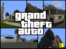 Grand Theft Auto (CANCELLED) Minecraft Map & Project
