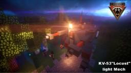"KV-53""Locust"" Light Mech Minecraft Project"