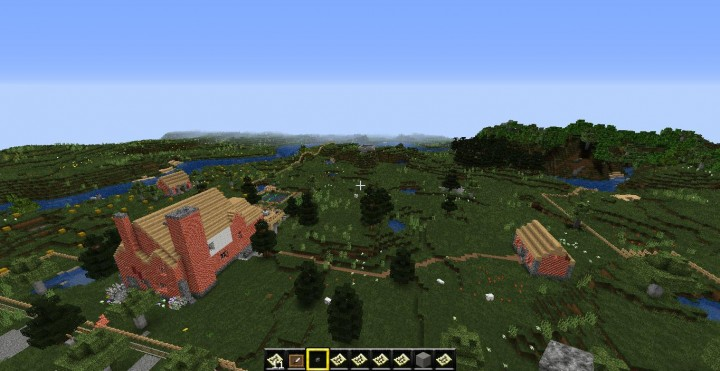 a wealthy farm in the south