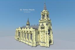 St. Vortus Church Minecraft