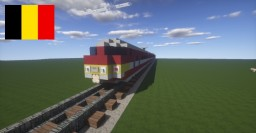 Train - BN MS-75 - NMBS Belgian train Minecraft Map & Project
