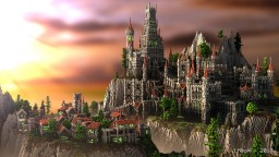 Medieval Castle: How to build Minecraft Map & Project