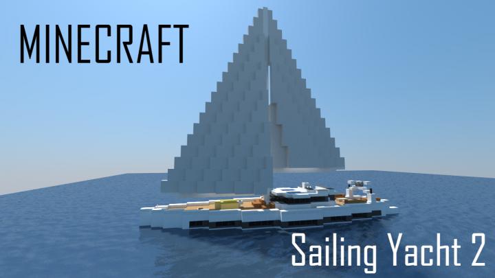 Sailing Yacht 2 (full interior) Minecraft Project