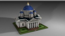 Trinity Cathedral, St. Petersburg Minecraft Map & Project