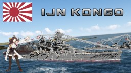 Kongō-class battlecruiser Minecraft Map & Project