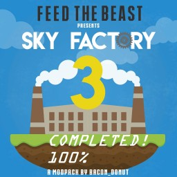Sky Factory 3 [The Sky Power Plant] Environmentally Friendly (Final update! 100% Completed) Minecraft Project