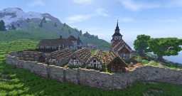 Early Medieval Monastery [Conquest Reforged] Minecraft