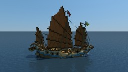 Chinese Junk Minecraft Map & Project