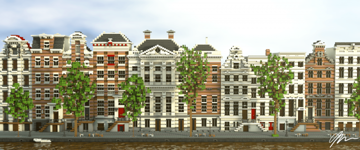 Herengracht amsterdam minecraft project for Herengracht amsterdam