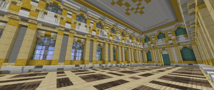 Hermitage - Winter Palace Minecraft Project