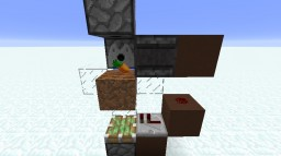 Automatic Wheat Carrot and Potato Farm! Minecraft Project