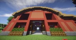 ✦ Barn & Custom Terrain Map ✦ Minecraft Map & Project