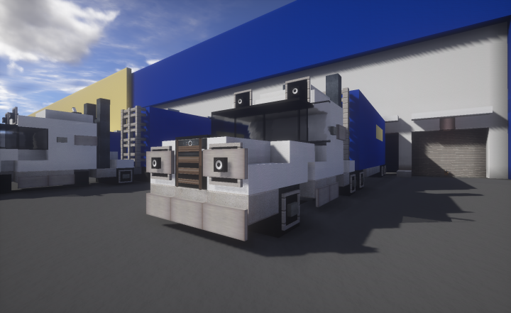 Ikea truck minecraft project
