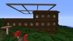 Burning Mansion Minecraft