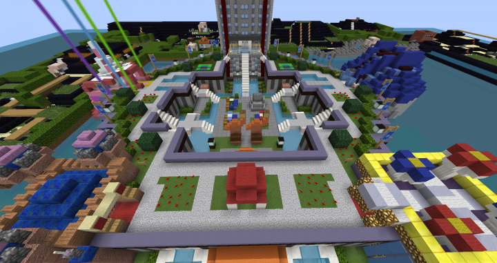 Battle Park in Sinnoh. Im really proud of this build!