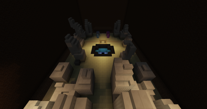 Spear Pillar, with the distortion world portal active