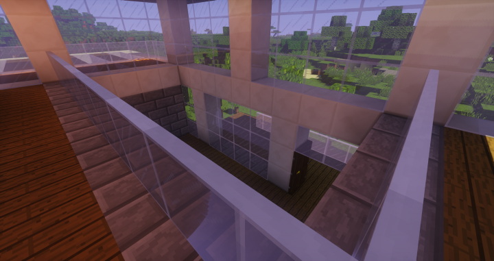 Modern House Plains Minecraft Project